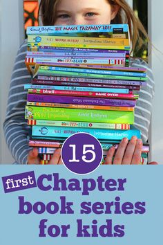A great list of first chapter books series for younger readers who are ready to make the move