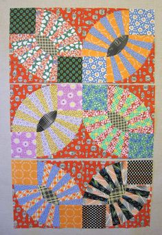 122 best images about Quilt Pickle Dish - Gypsy Kisses on . Old Quilts, Mini Quilts, Vintage Quilts, Quilt Block Patterns, Pattern Blocks, Quilt Blocks, Quilt Modernen, Quilt Material, Foundation Paper Piecing