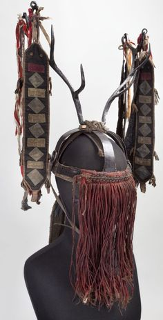 Evenk shaman's headdress