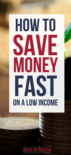 How to Save Money Fast on a Low Income - Finance tips, saving money, budgeting planner Save Money On Groceries, Ways To Save Money, Money Tips, Money Saving Tips, Planning Budget, Budget Planer, Money Challenge, Thing 1, Savings Plan