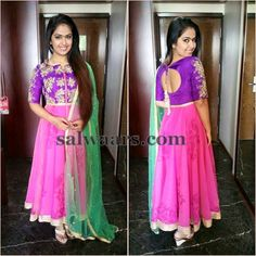 Avika Gor in Mrunalini Rao Salwar - Indian Dresses