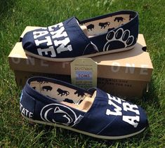 We Are Penn State Custom Hand-Painted Toms by EtsyByVeasey on Etsy