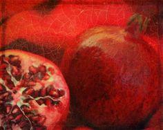 Renaissance Pomegranate A Signed Fine Art Print. $20.00, via Etsy.
