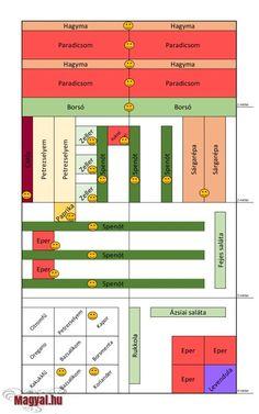 Kert növényei 2015. május Bar Chart, Bar Graphs