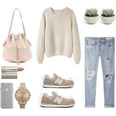 Sunday Style by fashionlandscape on Polyvore featuring Mode, La Garçonne Moderne, rag & bone/JEAN, New Balance, Tod's, Topshop, Case-Mate and Ilia