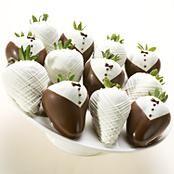 Chocolate covered strawberries-wedding style!