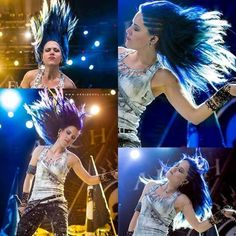 Alissa White Gluz. Friggin hair porn. Even though I am straight and have a boyfriend. I would so marry her!