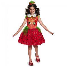 Strawberry Kiss Classic Girl's Costume