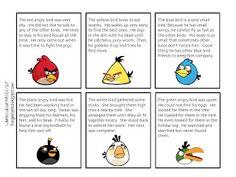 Angry Birds Main Idea Game