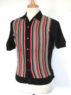 Awesomeness at it's best. Rockabilly Moda, Rockabilly Shirts, Rockabilly Fashion, Mens Vintage Shirts, Urban Fashion, Mens Fashion, Concert Wear, Bowling Shirts, Sixties Fashion