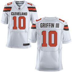 Cleveland Browns #10 Robert Griffin III 2015 White Elite Jersey