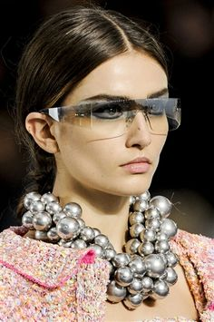 11a5a82f208 Hula Hoop Bags and Kitschy Coco Sunglasses at Chanel