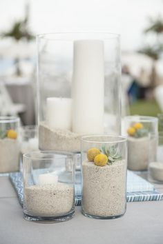 Beachy wedding details | A Catalina Island Wedding | MoHa Photography