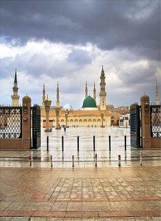 Masjid al Nabawi Al Masjid An Nabawi, Mecca Masjid, Mecca Islam, Masjid Al Haram, Alhamdulillah, Ramadan, Mecca Wallpaper, Islamic Wallpaper, Medina Mosque