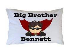 Big Little Brother Superhero Personalized