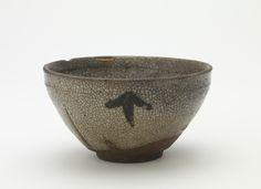 Temmoku tea bowl, Karatsu ware, Momoyama period (1573 - 1615)