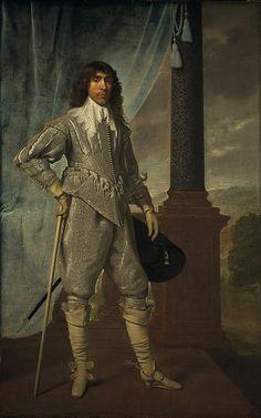 "thestuartkings: "" James Hamilton, Duke of Hamilton, 1606 - Royalist By Daniel Mytens 1629 James, Duke of Hamilton, was the close friend and principal Scottish advisor to Charles I."