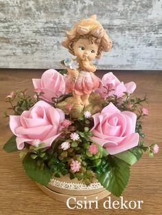 Tavaszi asztaldísz Flower Arrangements, Table Decorations, Spring, Flowers, Projects, How To Make, Diy, Home Decor, Creative