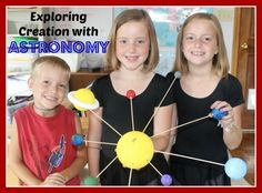 Exploring Creation with Astronomy ~ activities and resources for each chapter