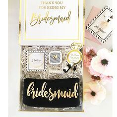 """Add style and fun to your Bridal Shower, wedding day or bachelorette party with a bridal party T-shirt. Make your gals feel special with a soft cotton jersey shirt with a scoop neck, short sleeves and printed with their """"bridal party title"""" in metallic gold foil."""