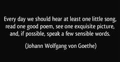 Johann Wolfgang von Goethe//