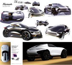 Porsche Tamek by Tae Park https://www.behance.net/thisistae