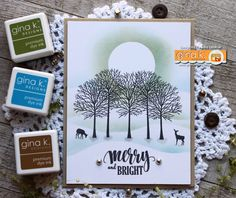 Happy Day!     The Cast and Crew for Gina K. Designs welcomes you to another fabulous blog hop celebrating the new Gina K. Designs - M...