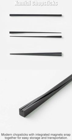 Cool designs--Two-in-One Chopsticks