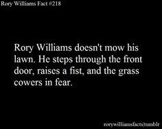 Rory Williams-the scifi Chuck Norris