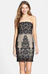a. drea Embroidered Body-Con Dress (Juniors)