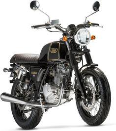 9e8419717098 La Mash Black Seven 125 est la dernière moto du français Sima