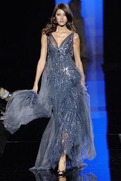 Elie Saab Fall 2005 Couture Fashion Show - <em>La mariée</em>