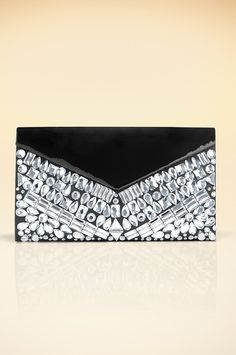 Allover jeweled clutch #BostonProper #Holiday #Sparkle #Jewels