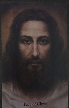 Face of Christ by Agemian  Reproduction from shroud of Turin