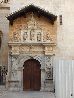 A substantial looking door in #Granada