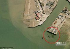 15公尺巨型螃蟹現蹤?鎮民被嚇壞