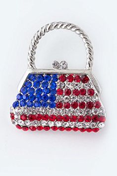 BAUBLES  CO PATRIOTIC HANDBAG BROOCH >>> Visit the image link more details.(This is an Amazon affiliate link)