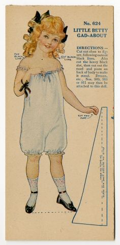 77.313: Little Betty Gad-About | paper doll | Paper Dolls | Dolls | Online Collections | The Strong