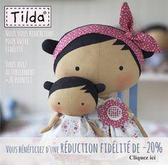 Galerie des créations Tilda. Ver telas para comprar.