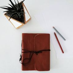 diy leather notebook cover 10