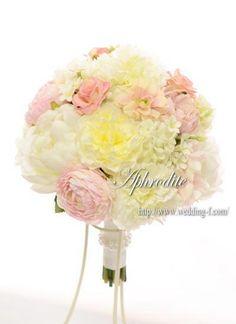 ウエディングブーケ専門ショップ・アフロディーテ(Wedding Bouquet Aphrodite)  モコモコ・フワフワの優しいブーケ❤