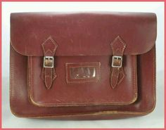 School satchel...loved it --- my boyfriend -- now my husband of 43 years carried my satchel to school