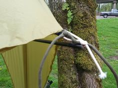 Tie tarp to trees | 80 Uses for Paracord | Cool DIY Tutorials For Survival Gear Projects by Survival Life at http://survivallife.com/80-uses-for-paracord/