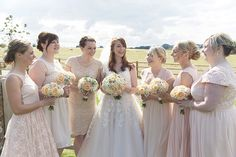 Rachel and Andrew's Rustic Barn Wedding By Natalie J Weddings