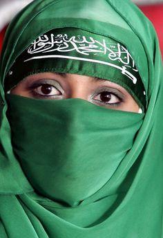 Green Niqab https://www.lokmanavm.com/ #Abaya #Hijap #Müslim #Müslima #WomanMüslim #Woman #Tesettür #Örtü #Türban #Turban #Şal #Aba #Örtünmek #Hicap #Hicabi #Hijab #muslimah #Fashion #Beautiful #Mubarak #Arab #Arabic #Niqab