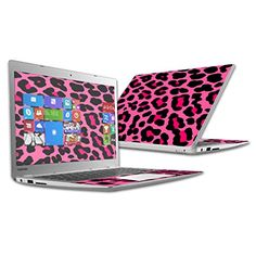 """Mightyskins Protective Vinyl Skin Decal Cover for Toshiba CB35 Chromebook 2 13.3"""" (2nd Gen) Laptop Cover wrap sticker skins Pink Leopard MightySkins http://www.amazon.com/dp/B00RKJX4KW/ref=cm_sw_r_pi_dp_A7qxwb16D2ZKR"""