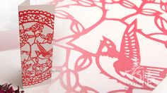 wedding invitation with traditional chinese paper cutting in red color create a sharp contrast on pearl color pearlised fancy paper. This wedding invitatioin is Chinese Wedding Invitation Card, Laser Cut Invitation, Diy Invitations, Wedding Invitation Design, Wedding Inspiration, Design Inspiration, Wedding Ideas, Chinese New Year Card, Informal Weddings