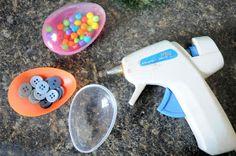 Baby's First Easter - Sensory Shaker Eggs!