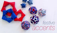 HOW TO 3 easy stars | Relevé Design...so making these! Thanks Nate Burkus for bringing Bao to my attention!