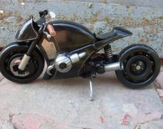 Custom motorcycle sculpture. I'll build your bike